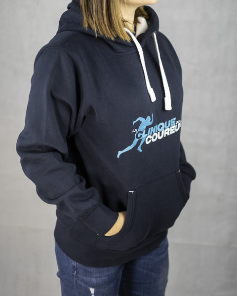 Sweat à capuche - Navy