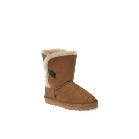 Kids Button Ugg Boots
