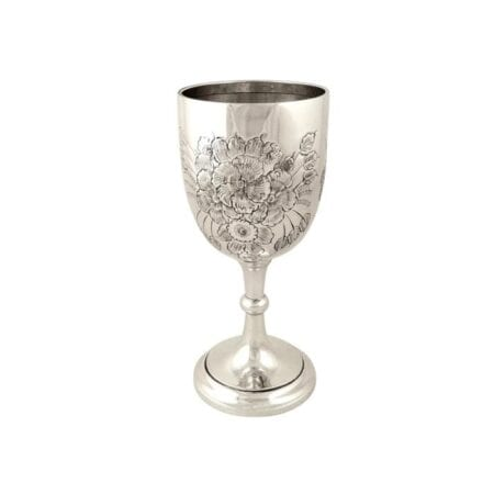 SILVER DRINK RELATED - MUGS, GOBLETS & HIP FLASKS