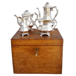 SILVER TEA & COFFEE SERVICE