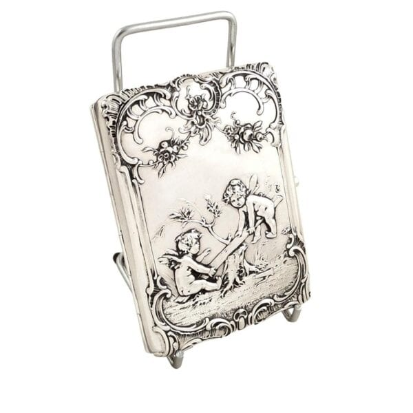 SILVER PURSES, CARD CASES & CIGAR CASES