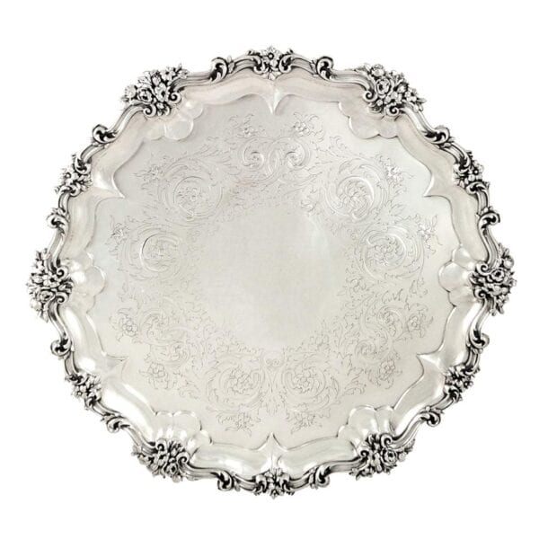 SILVER TRAYS & SALVERS