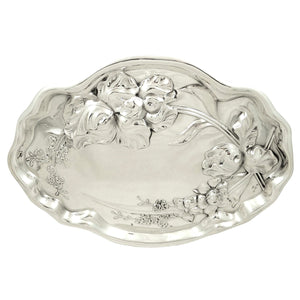 Antique Art Nouveau Sterling Silver Dressing Tray 1911