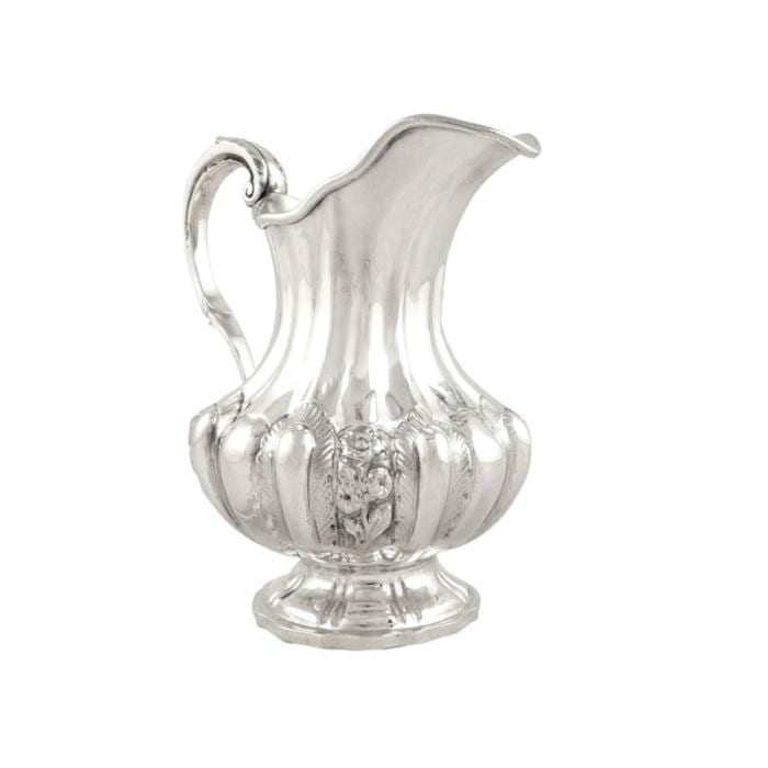 Antique Victorian Sterling Silver Jug 1840