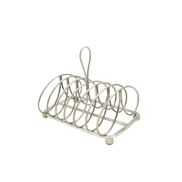 Antique Georgian Sterling Silver Toastrack 1821