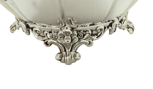 Antique Victorian Sterling Silver 2 Handle Bowl 1885