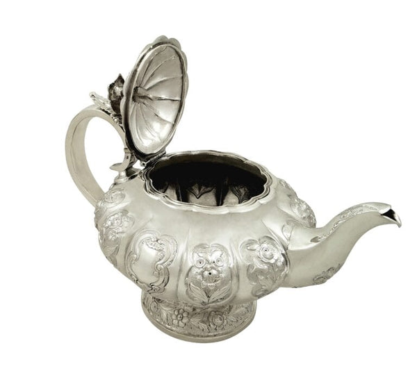 Antique William IV Sterling Silver Teapot 1836