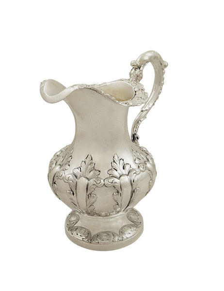 Antique Victorian Sterling Silver Jug 1844