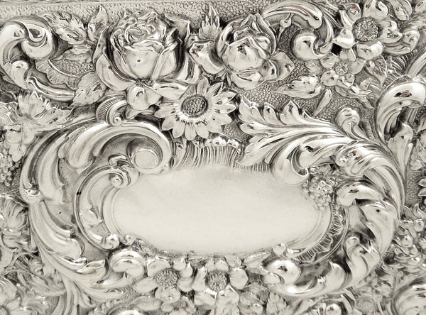 Antique Edwardian Sterling Silver Dressing Tray 1905
