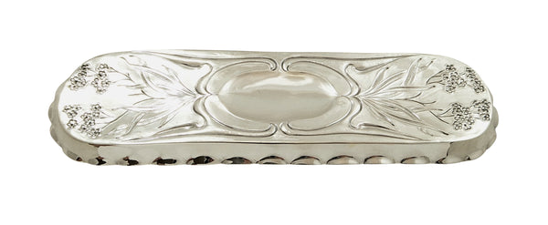 Antique Art Nouveau Sterling Silver Pin Tray 1904