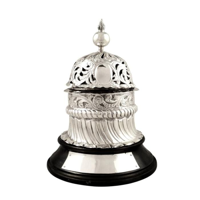Antique Victorian Sterling Silver Shop / Reception Bell 1892