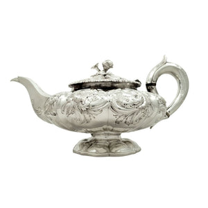 Antique George IV Sterling Silver Teapot 1823