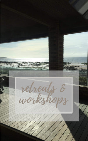 2019's  'Retreat called Nourish and Nurture' took place in a converted fishing net factory on the water's edge in the East Neuk of Fife