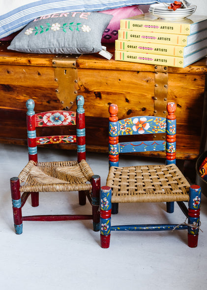 Folk Art Toddler Chair