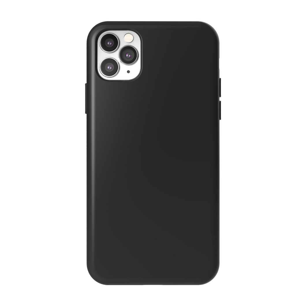 Siliconenhoes - Dusky Black - iPhone 11-modellen