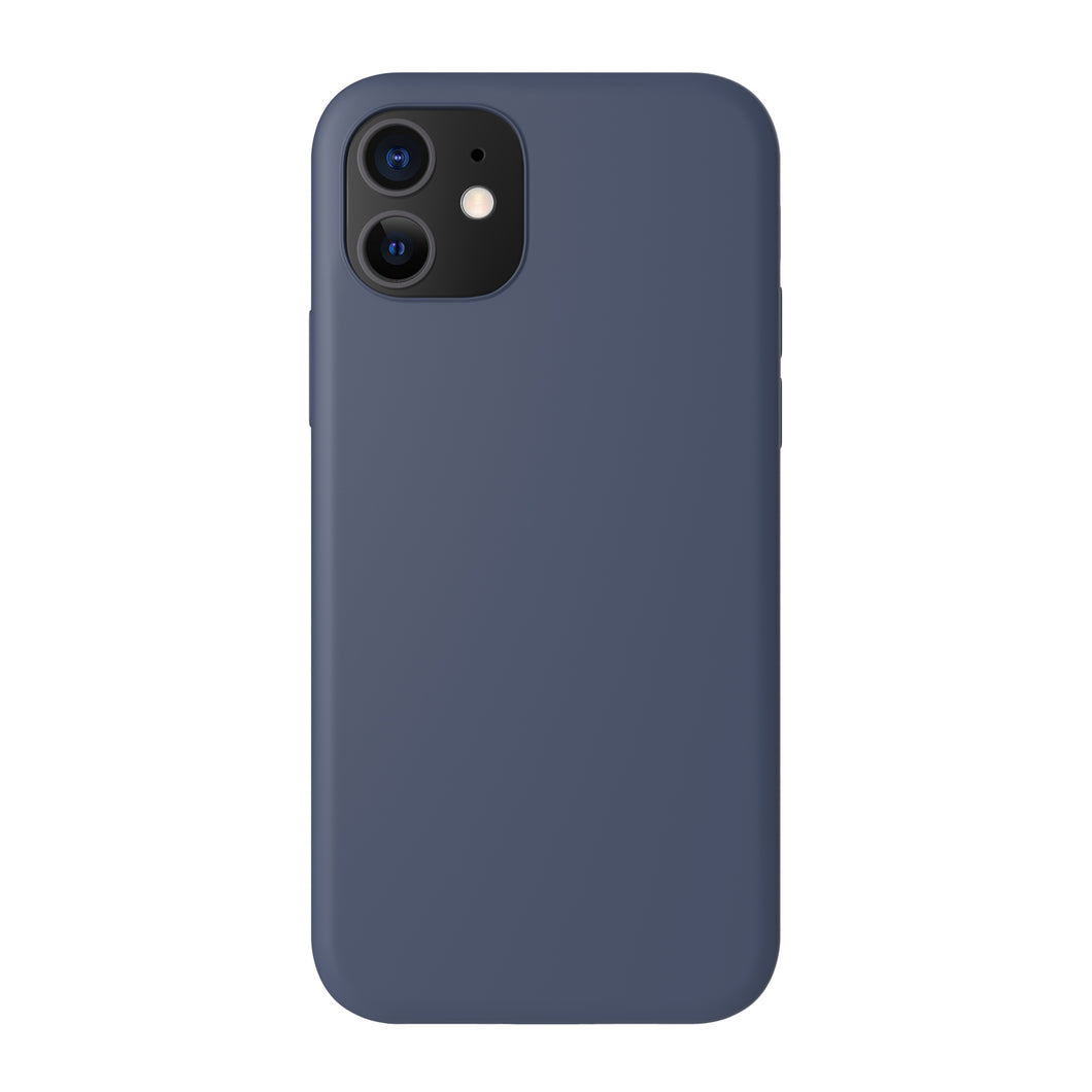 Siliconen hoes - Gloomy Blue - iPhone 12-modellen