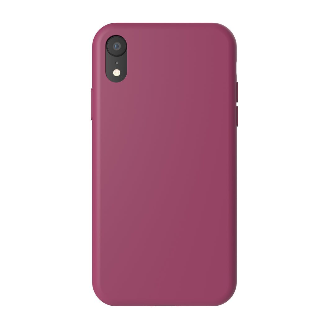 Siliconen Cover - Wine Burgundy - iPhone XR modellen