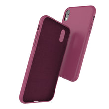 Afbeelding in Gallery-weergave laden, Siliconen Cover - Wine Burgundy - iPhone XR modellen