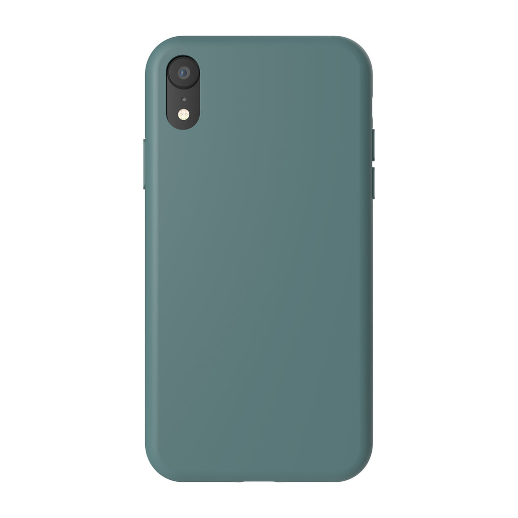 Siliconen Cover - Leafy Green - iPhone XR modellen