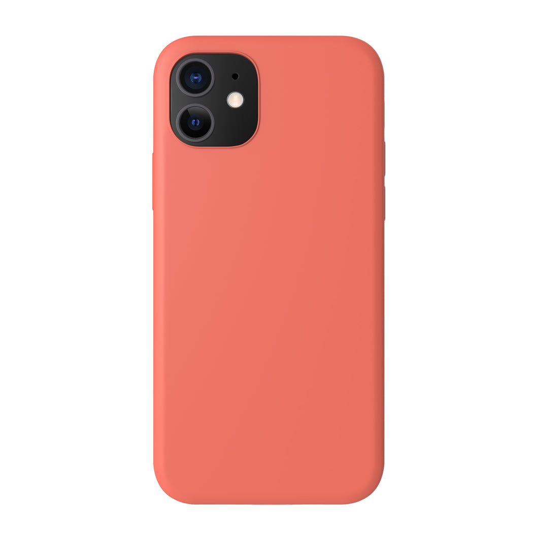 Silicone Cover - Apricot Orange - iPhone 12 models