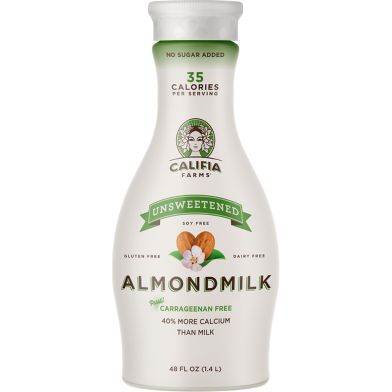Almond Milk, Unsweetened 64oz