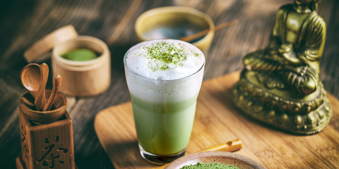 green tea matcha latte alternative to coffee
