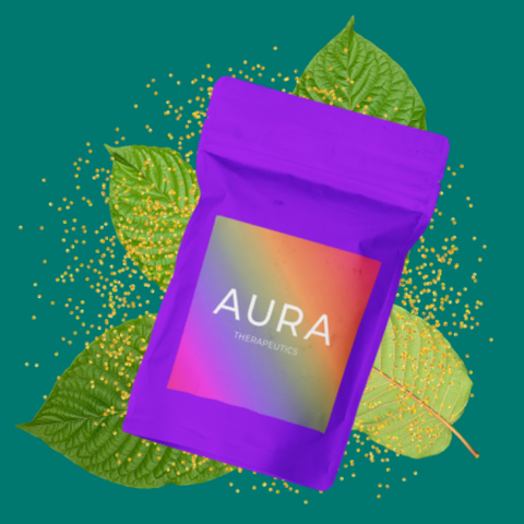 buy green dragon kratom powder by AURA Therapeutics