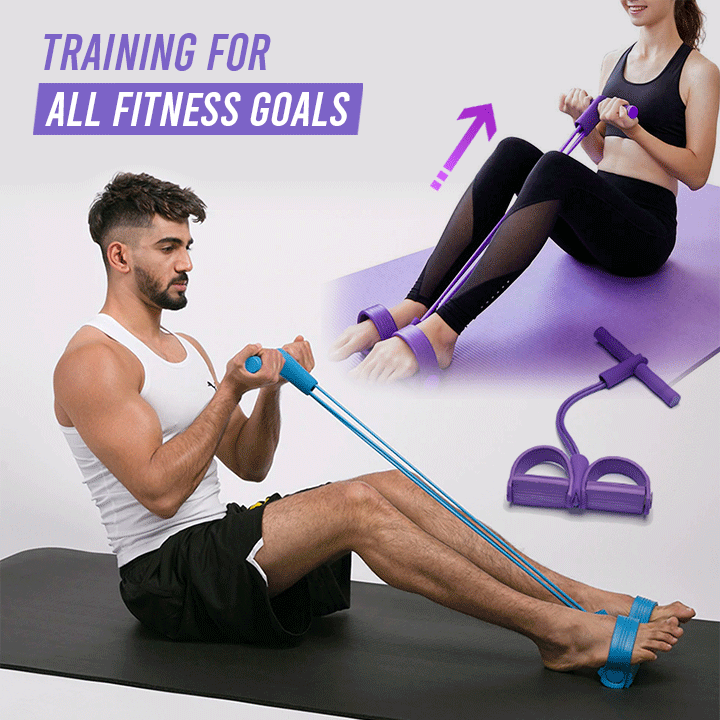HomeSweat™ Pull Rope Resistance Band - iHome Sweat