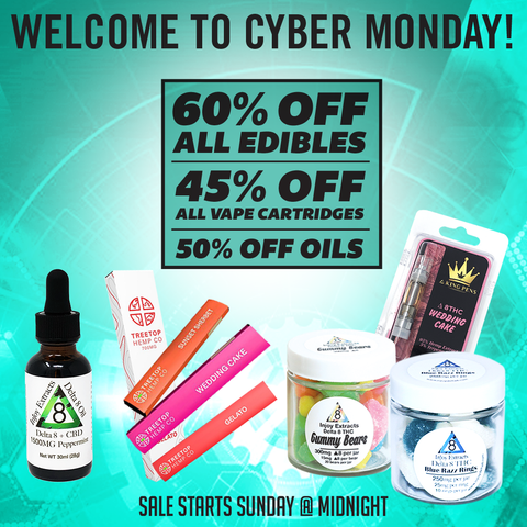 Cyber Monday 2020 - Injoy Extracts