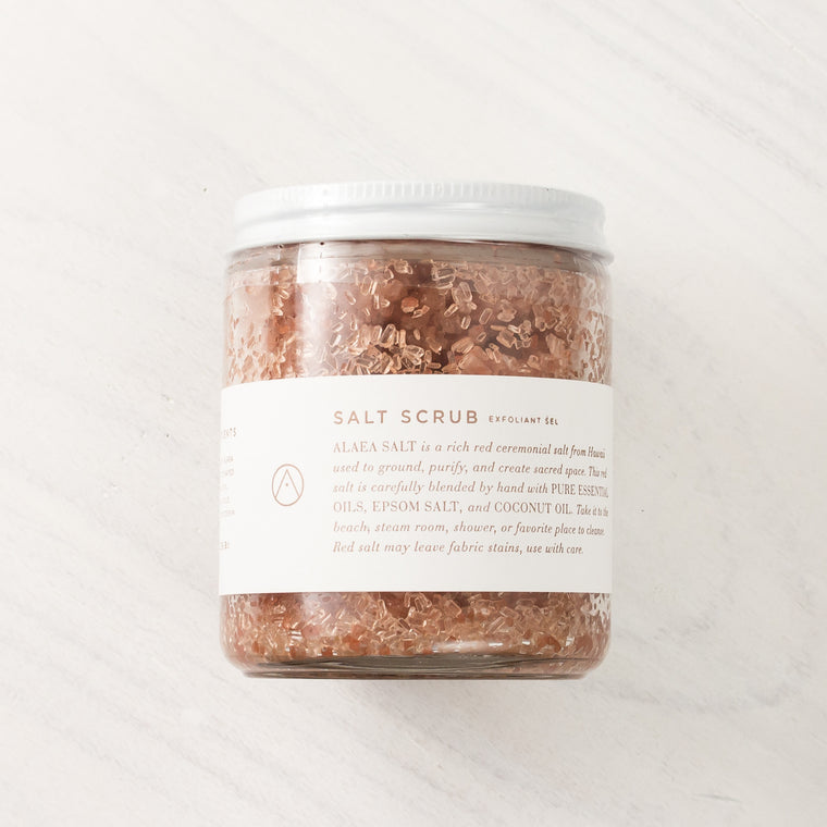 Smoke Salt Scrub