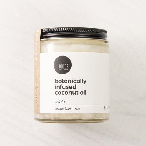 LOVE Organic Herbal Infused Coconut Oil