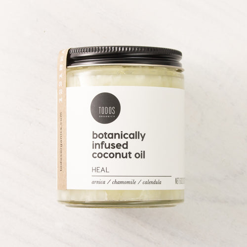 HEAL Organic Herbal Infused Coconut Oil