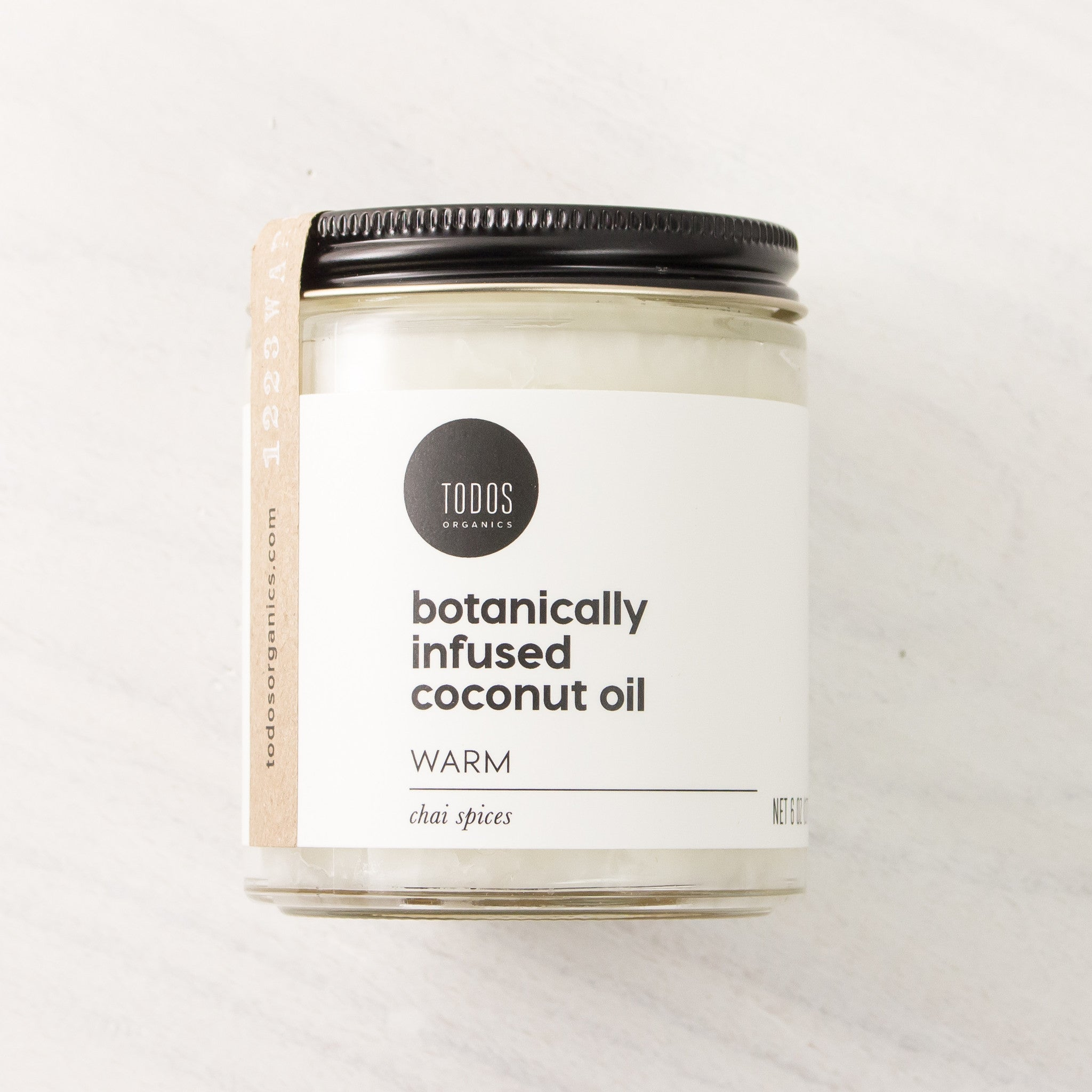 WARM Organic Herbal Infused Coconut Oil