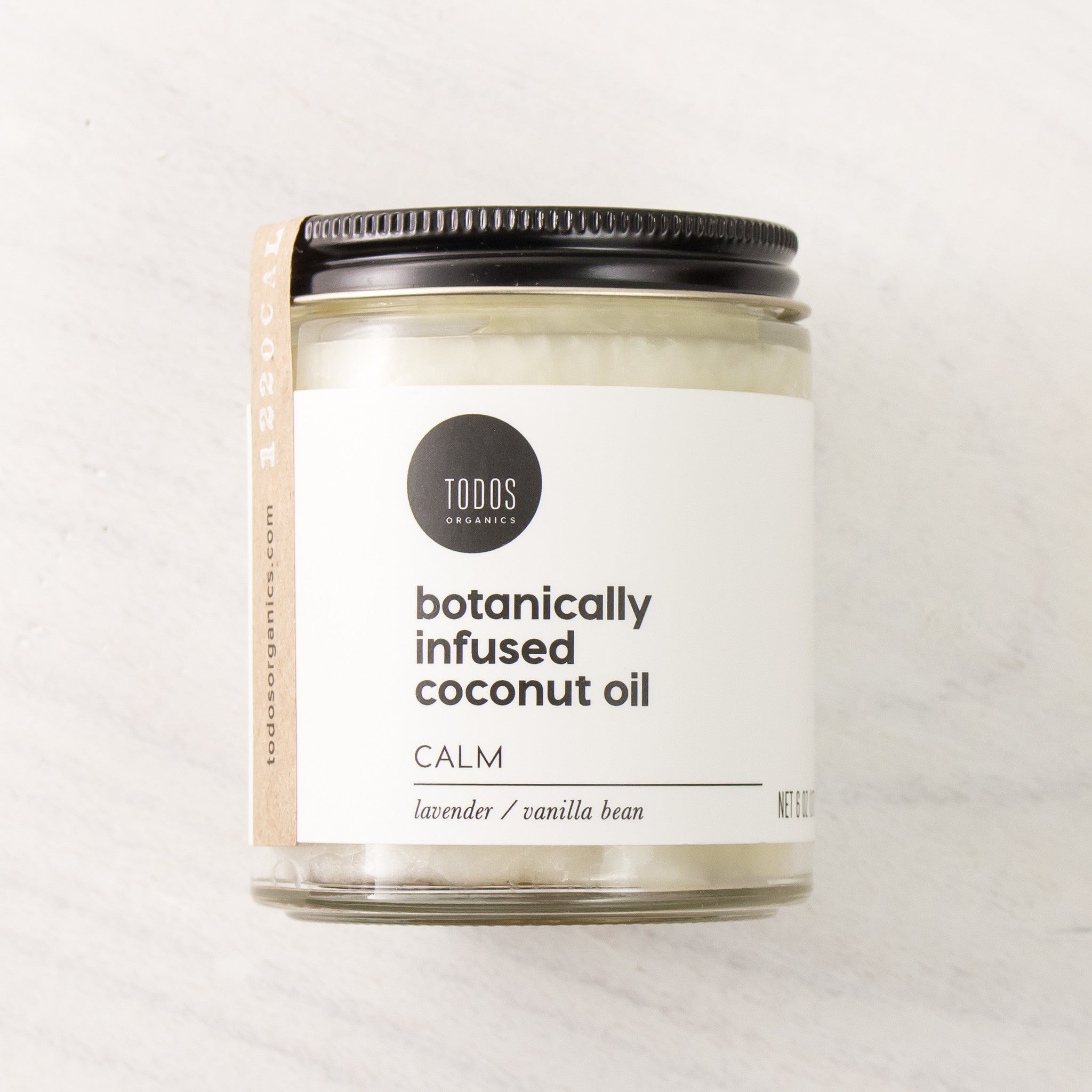 CALM Organic Herbal Infused Coconut Oil