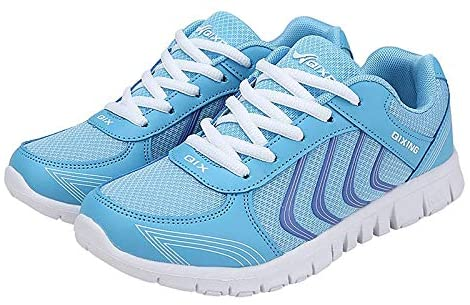 Women's Athletic Road Running Mesh Breathable Casual Sneakers