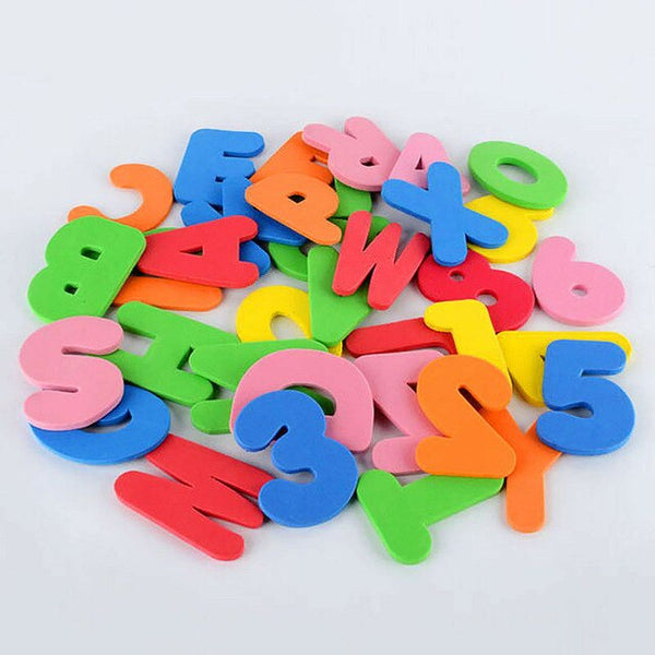 36pcs Baby Kids Children Floating Bathroom Bath tub Toy Foam Letters