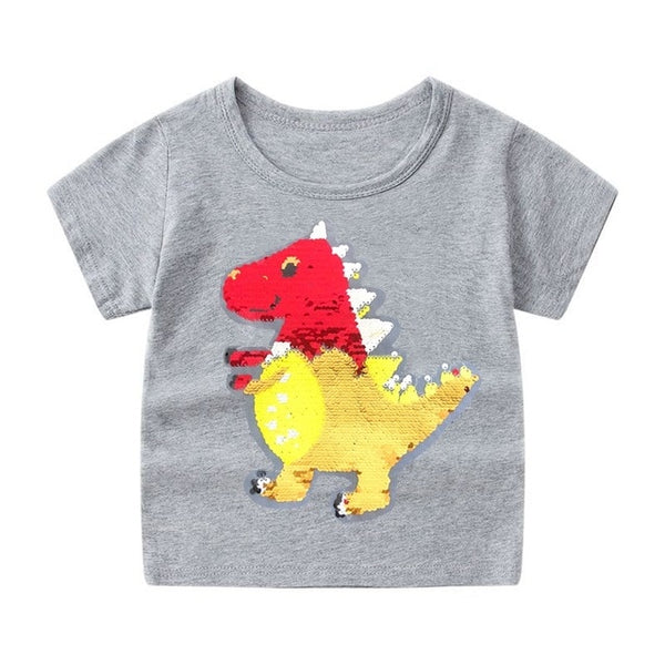 Baby Boys T Shirt Cotton Tops Tees 2-12 Year