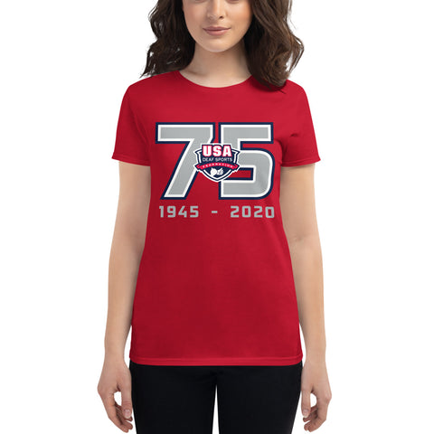 USADSF 75th Anniversary Women's T-Shirt