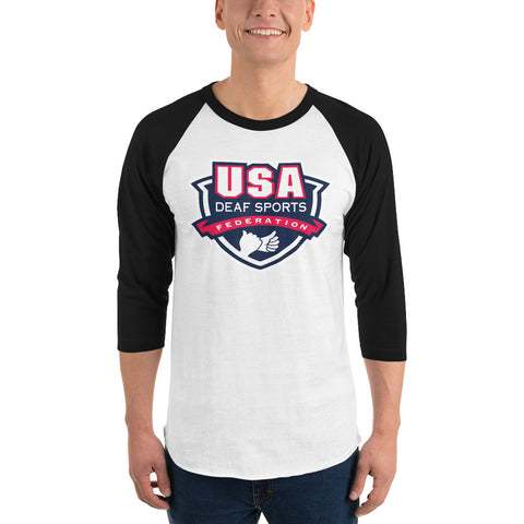 USA Deaf Sports Raglan