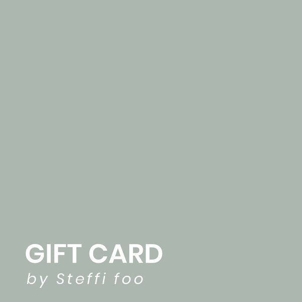By Steffi Foo gift card (two faces)