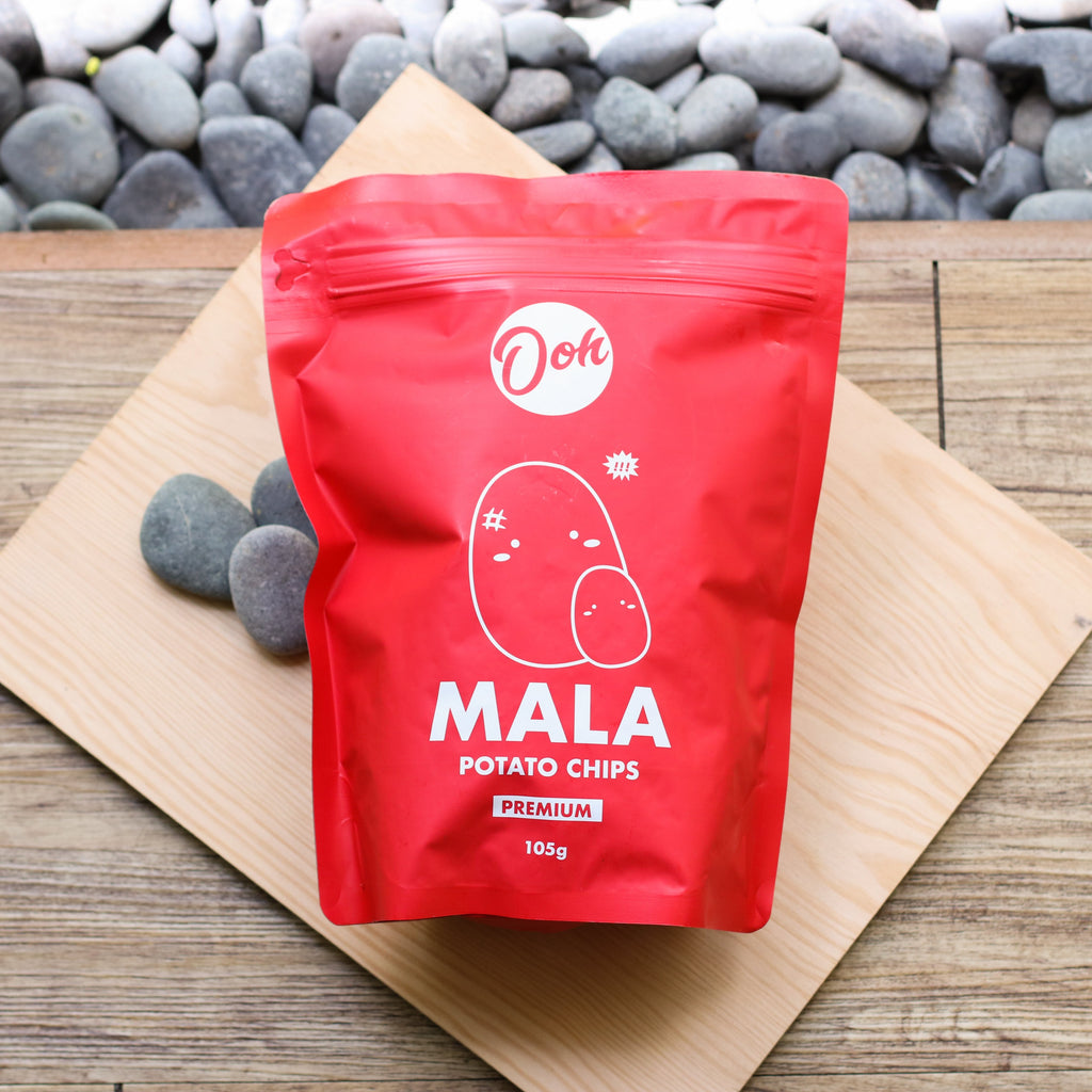 Ooh Mala Potato Chips - 105g
