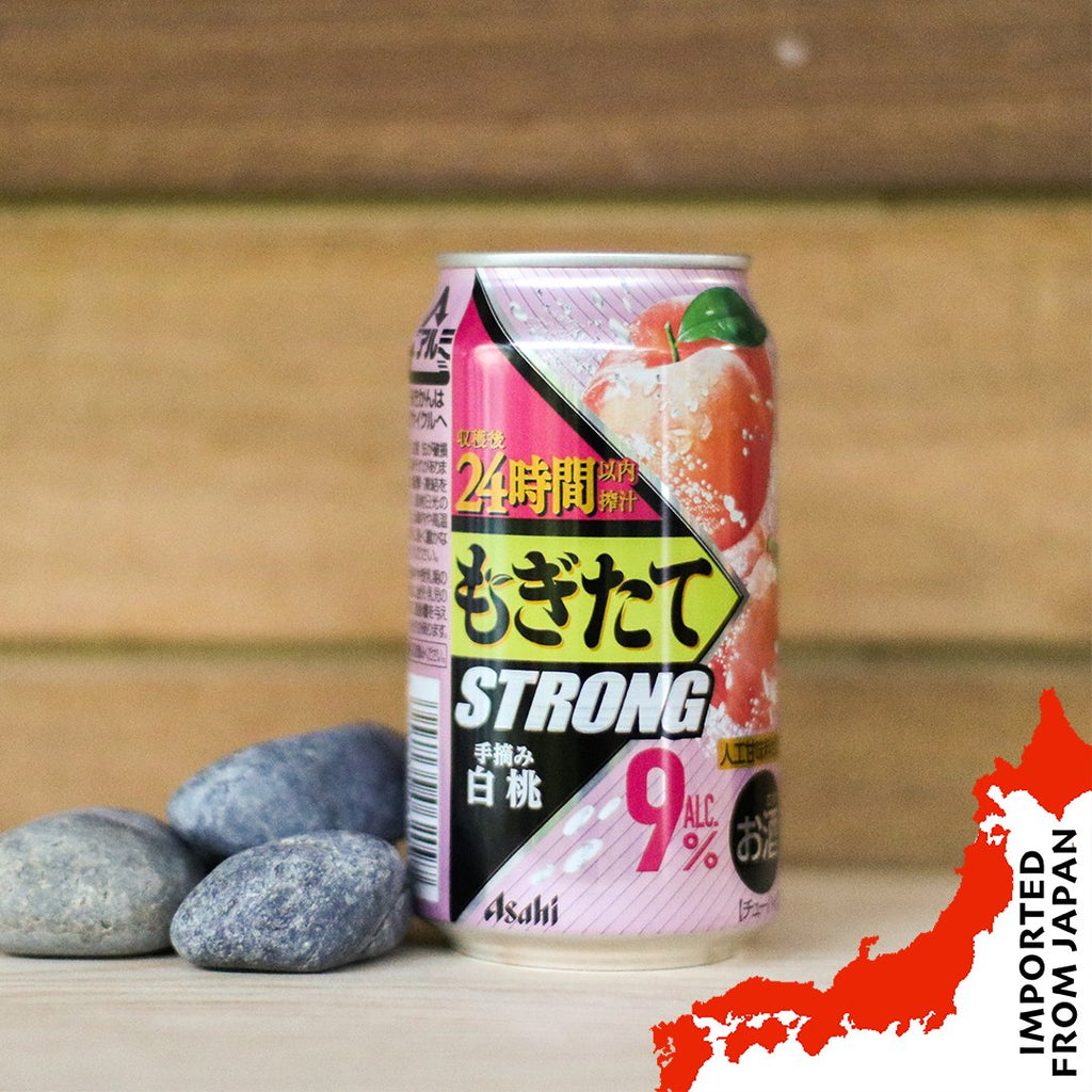 "Asahi ""Mogitate"" Strong Peach (350ml) - 3 cans"