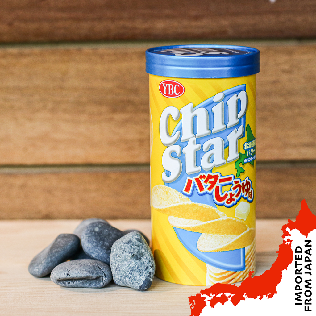 YBC Chip Star Butter Soy Sauce Potato Chips - 50g