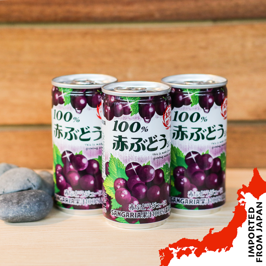 Sangaria 100% Grape Juice (190ml) - 6 cans