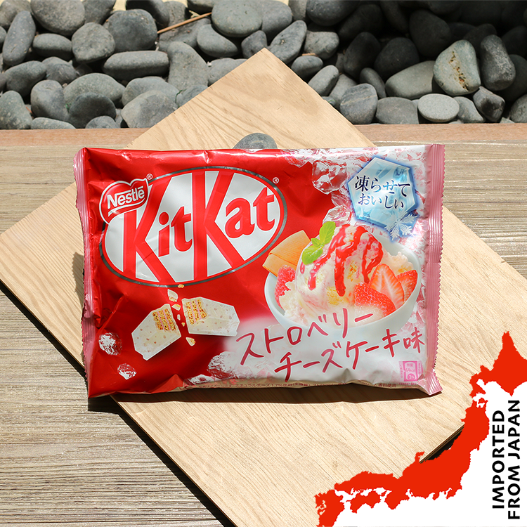 Kit Kat Mini Frozen Delicious Strawberry Cheesecake - 13 pcs