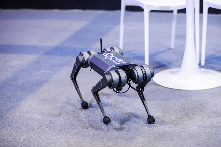 Dogotix the 'cute' robot dog