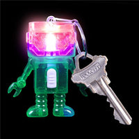 Robot Light-Up Keychain