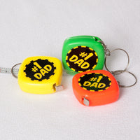 Dad Tape Measure Keychain
