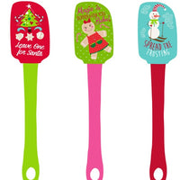 Christmas Spatulas - Pack of 3