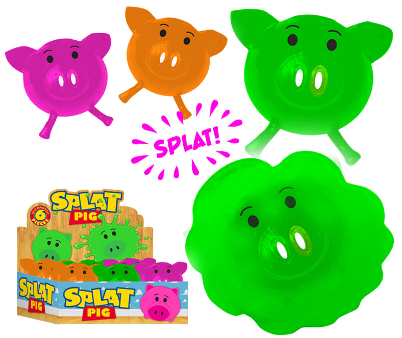 Splat Pigs - Pack of 6